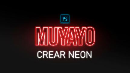Crear TEXTO NEON con Photoshop
