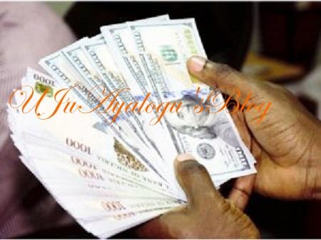 Naira gains marginally against dollar