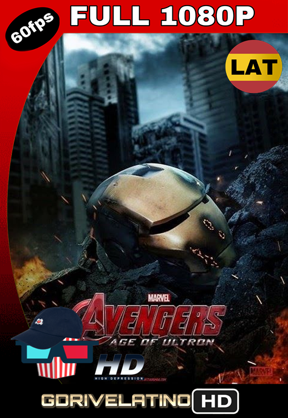 Avengers: Era de Ultrón (2015) BDRip 1080p Latino-Inglés MKV