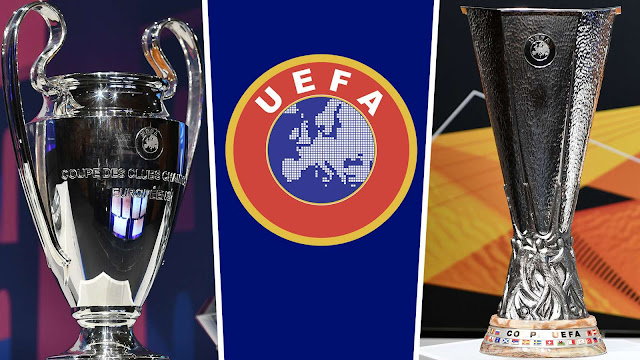 Champions League and Europa League dates changed