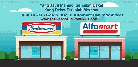 Cara Deposit Saldo Topindopay Via Indomart / Alfamart