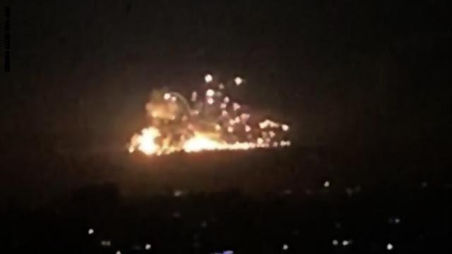 سانا: طائرات إسرائيلية هاجمت قاعدة جوية سورية.. ودفاعاتنا تصدت لها