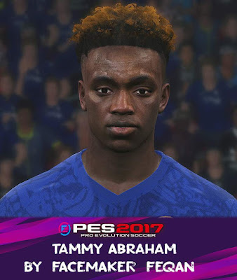 Tammy Abraham PES 2017 Face by Feqan