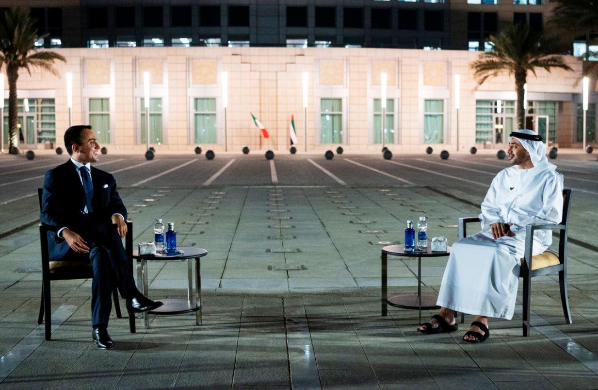 عبدالله بن زايد يستقبل وزير الخارجية الإيطاليا لبحث سبل تطوير العلاقات بين الإمارات وإيطاليا