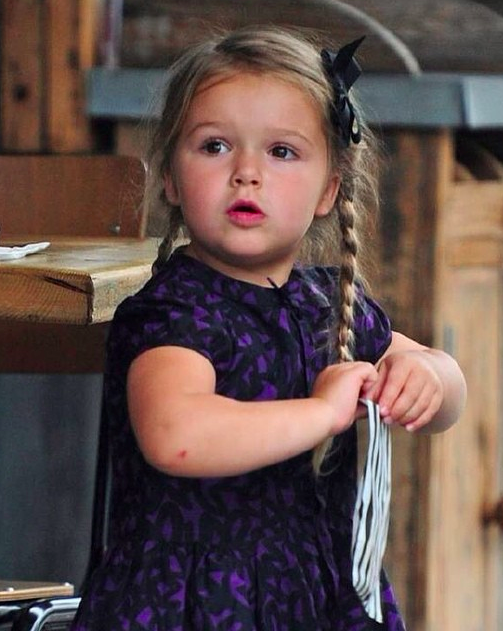 Harper Beckham Fashion Blog September 2014 Harper Goes