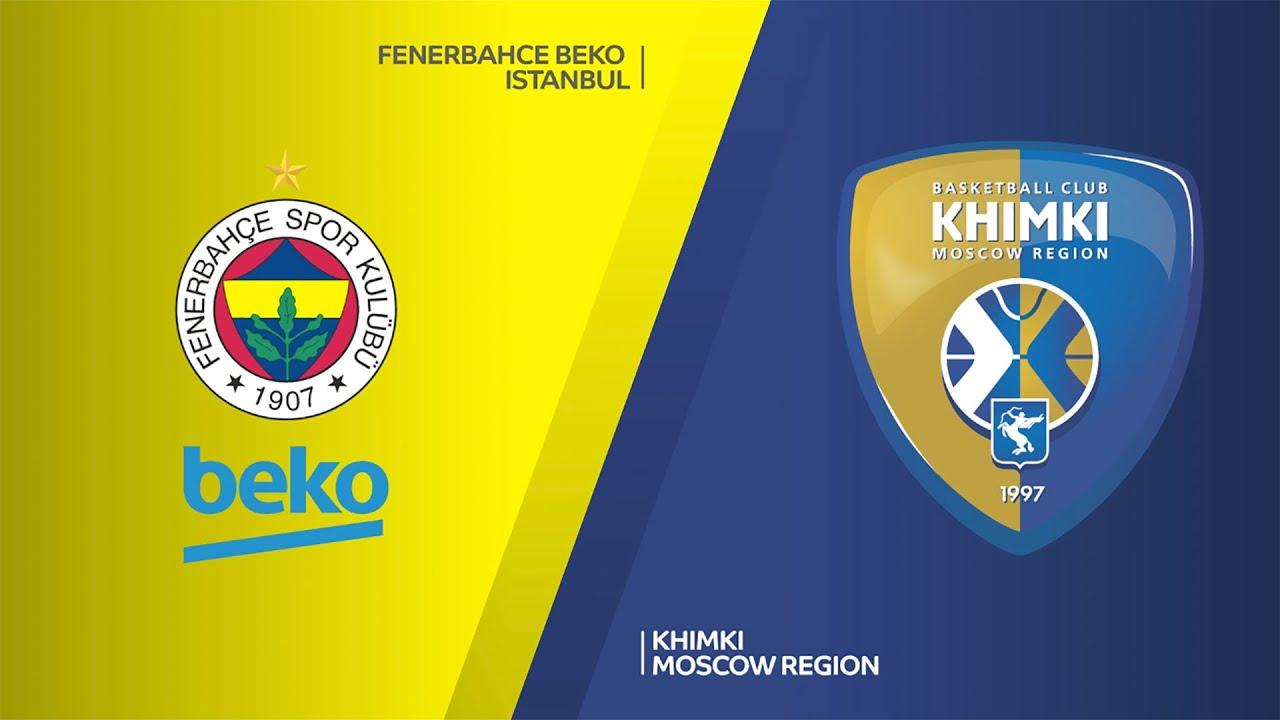 Khimky - Fenerbahçe Beko Basketbol Canlı maç izle
