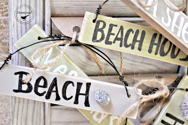 Christmas Beach ornaments