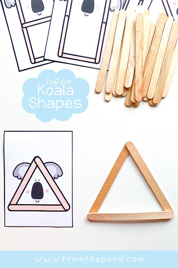 Math Canter Koala Shapes