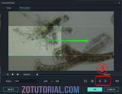 Efek Kamera Bergeser Pada Video Dengan Filmora Tutorial