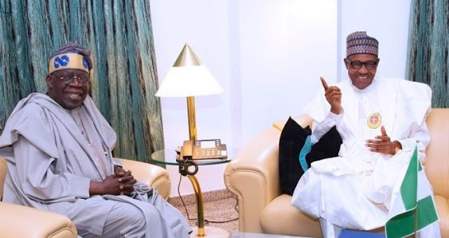 Buhari, Tinubu in closed-door meeting