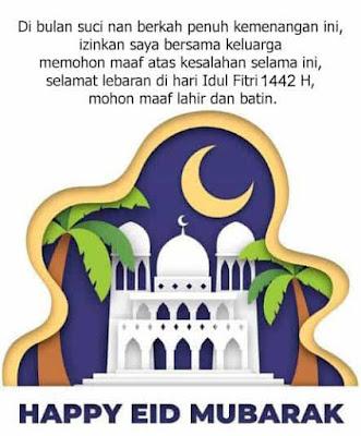 Ucapan Untuk Idul Fitri 2021 1442 Terbaru & Keren -idul fitri 1442 h