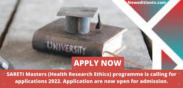 SCHOLARSHIP South African Research Ethics Training Initiative (SARETI)-University of Kwazulu-Natal–2022/2023