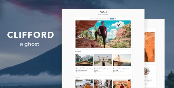 Blog and Magazine Theme for Ghost