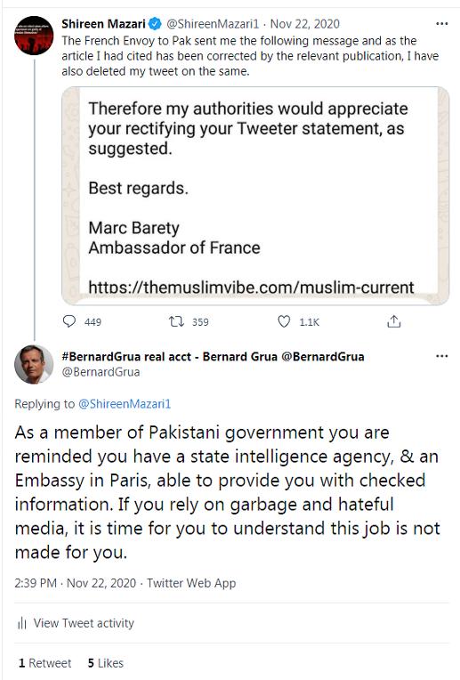 Shireen Mazari, pakistan whore