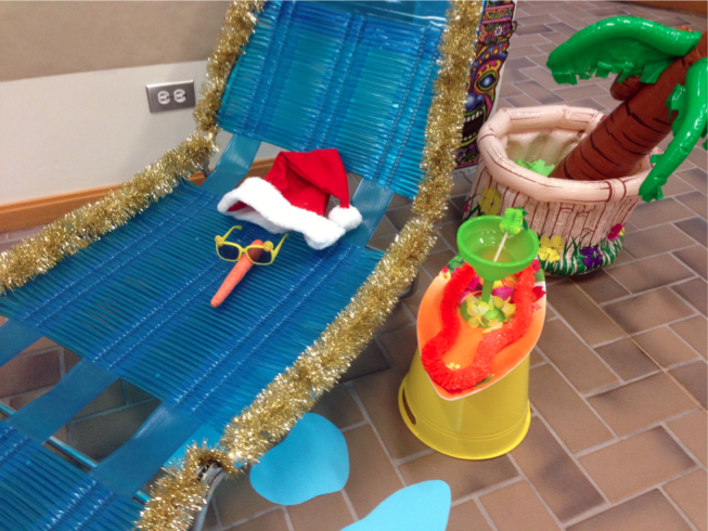 The Pursuit of Happiness: Surfing Santa Hawaiian Office ...