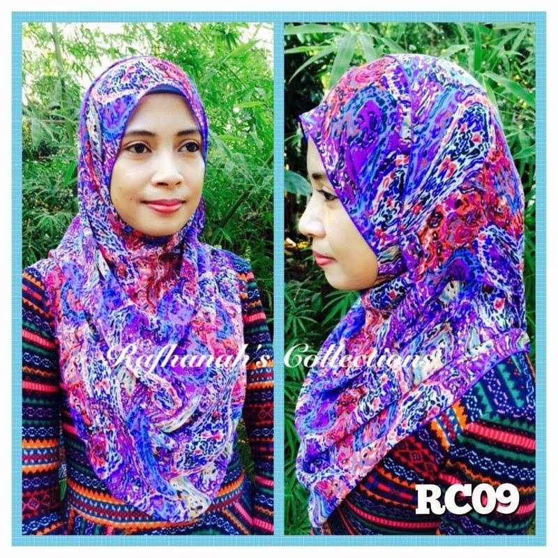 Pattern Shawl Raya Rafhanah's Collection