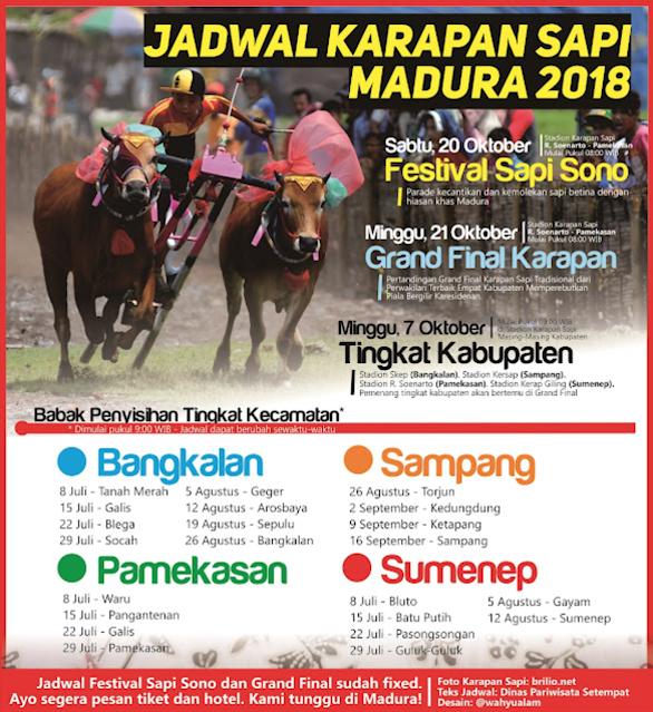 Jadwal Karapan Sapi Madura 2018