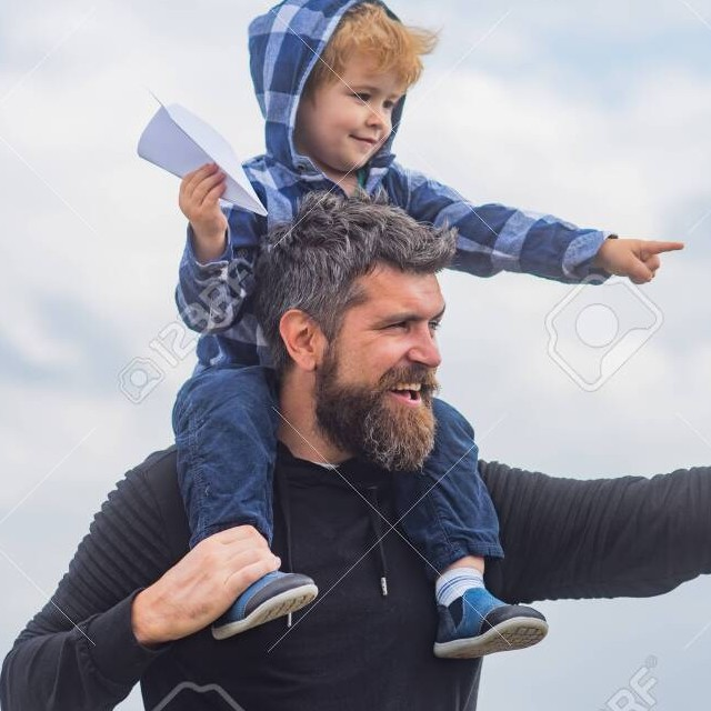 Fathers and son together happy fathers day 2020 images