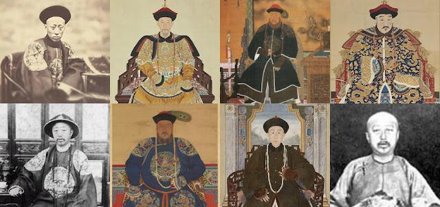 Chân dung các Hoàng tử triều đại nhà Thanh