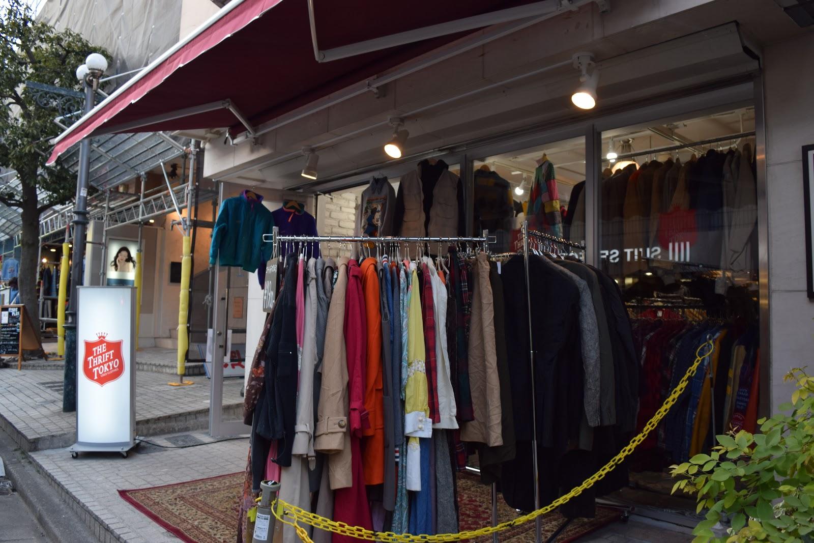 The Thrift Tokyo Shimokitazawa vintage clothes store