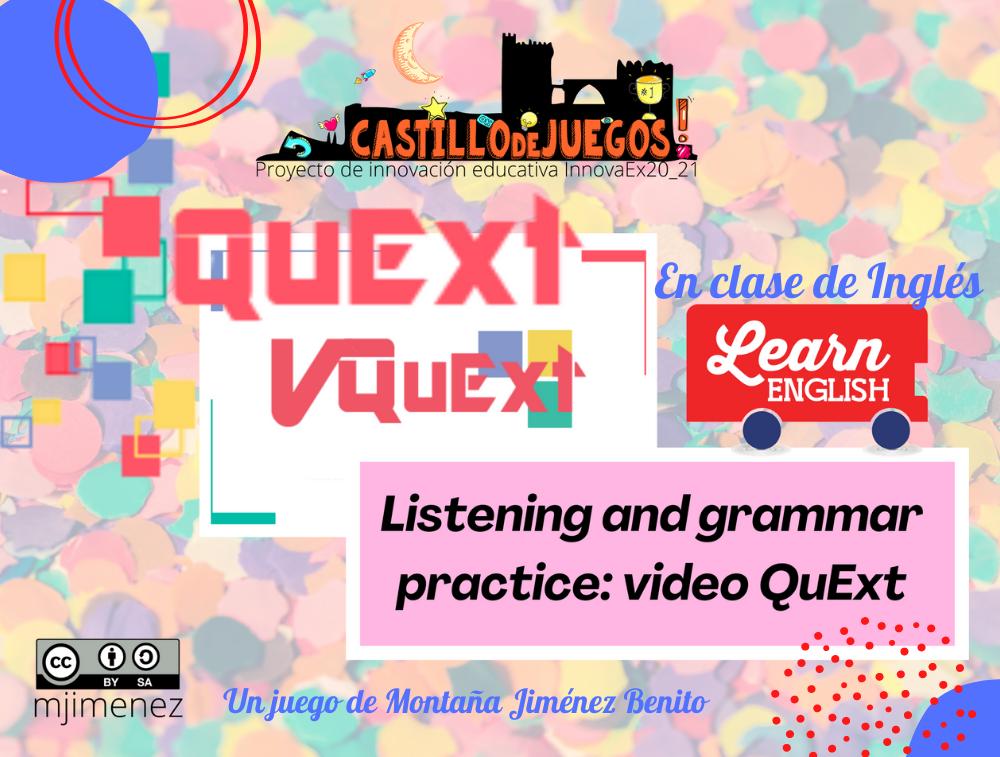 Vídeo QuExt para practicar Inglés