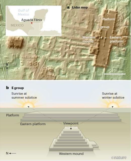 Μεξικό: Ανακαλύφθηκε το αρχαιότερο και μεγαλύτερο μνημείο των Μάγια