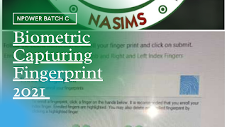 Npower Batch C Your Fingerprint On Nasims Portal