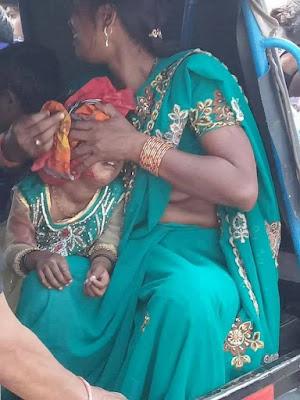 भारत बंद में मासूम को भी नहीं बख्शा