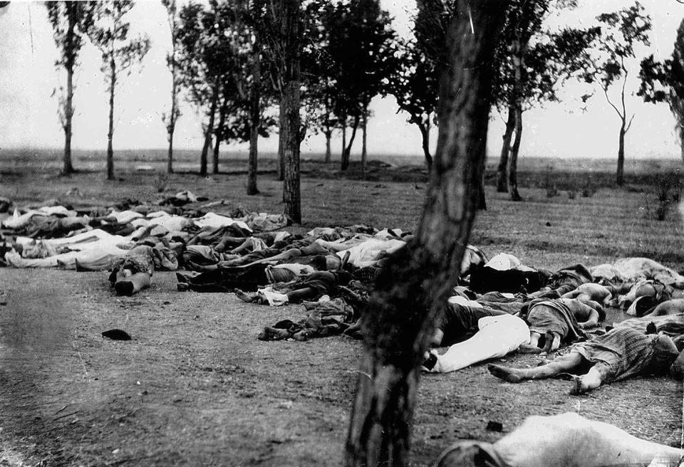Αρμένιοι που σκοτώθηκαν κατά τη διάρκεια της Αρμενικής Γενοκτονίας