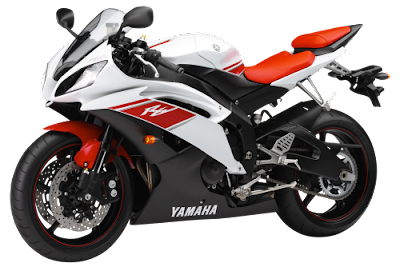 2016 Yamaha YZF-R6 side view red & white image