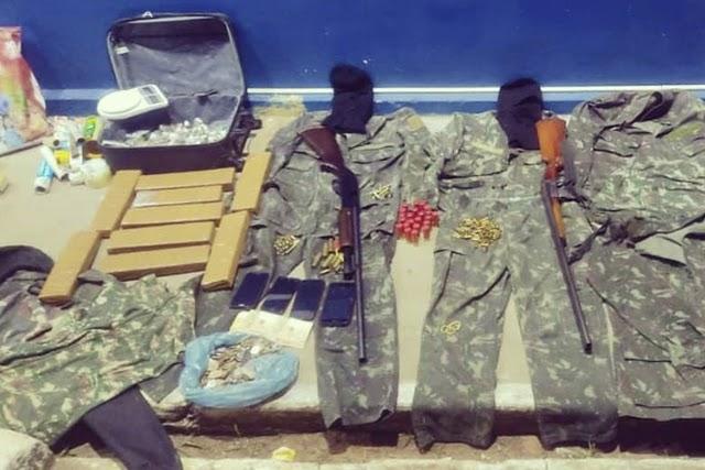 Oito pessoas são presas suspeitas de tráfico de drogas na Chapada Diamantina