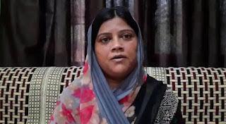 शहीद परिवार से मिलना भी मुनासिब नहीं समझते केराकत के जनप्रतिनिधि : नीतू सिंह | #NayaSaberaNetwork