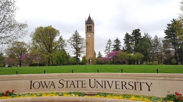 Iowa State University campus picture, Metamora Herald