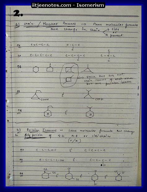 Isomerism2