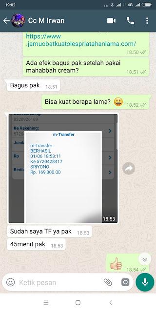 Jual Obat Kuat Oles Viagra di Gunung Sugih Lampung Tengah-Berapa lama pria ejakulasi