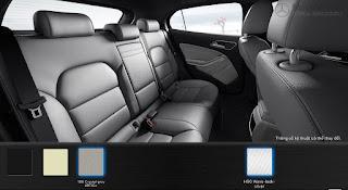 Nội thất Mercedes GLA 200 2015 màu Vàng Sahara 105