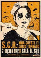 Concierto de SCR y Niña Coyote eta Chico Tornado en Sala el Sol