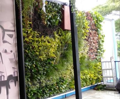 Tukang taman vertical garden - tukang rumput bogor