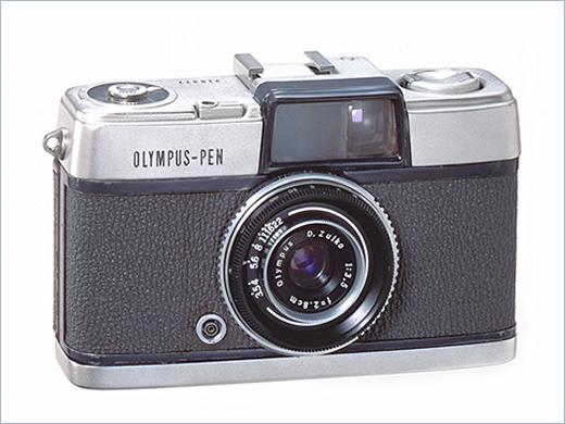 Olympus Pen (1959), Olympus Pen Half-Frame Cameras