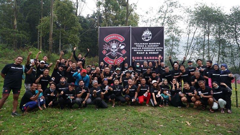 Komunitas Persekutuan Jurig Cai Gelar Jurig Cai Camp di Ranca Upas