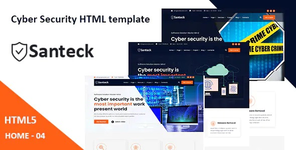 Cyber Security & It Services HTML Template