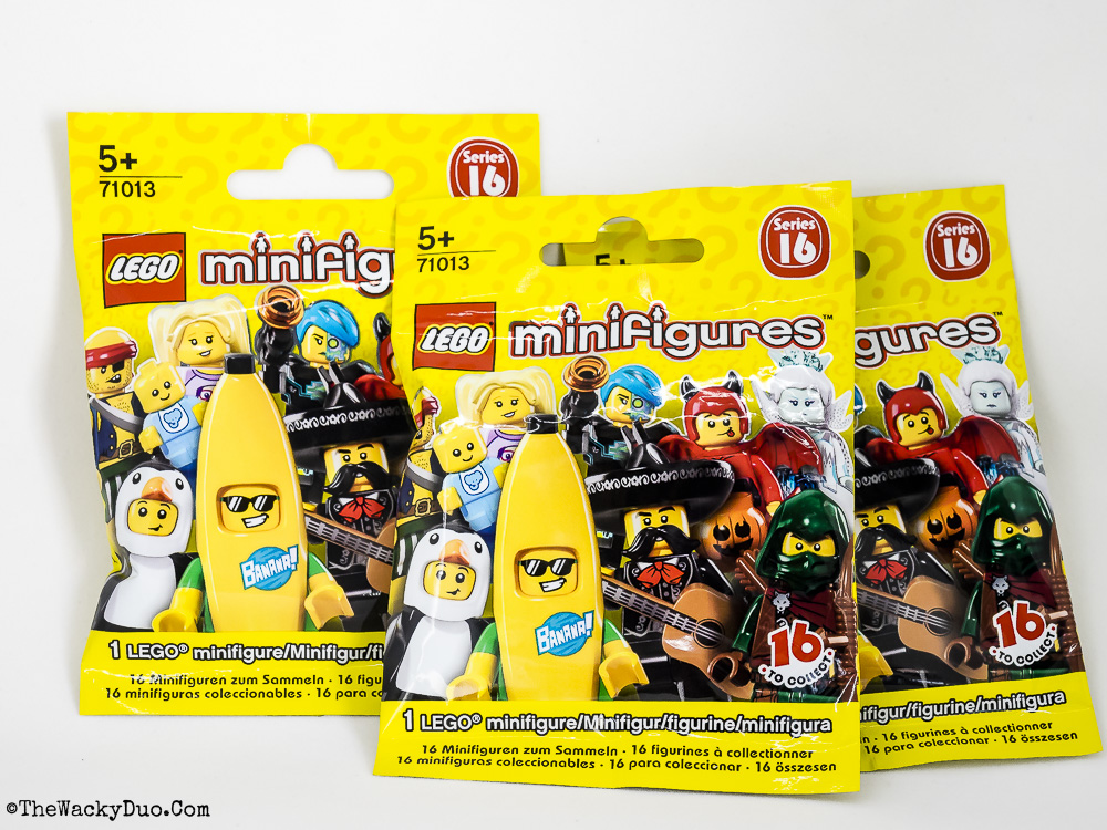 Lego Minifigures Series 16 Feel Guide The Wacky Duo Singapore