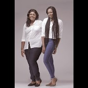 Nollywood Actress Yvonne Nelson & Mum Recreate her Childhood Photo to celebrate her mum