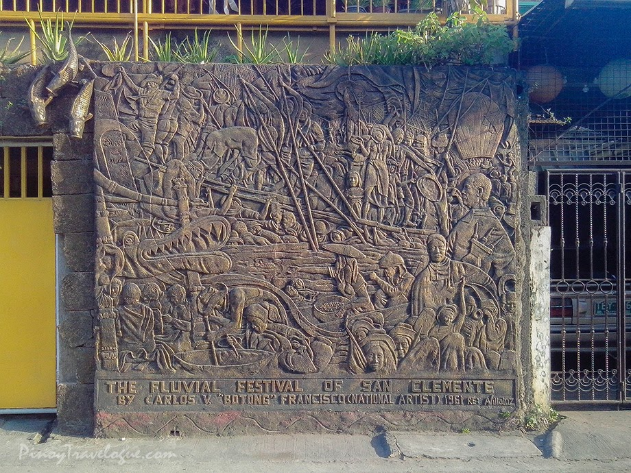 Fluvial Festival of San Clemente (mural by Alex Villaluz)