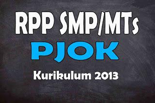 RPP 1 Lembar PJOK SMP Kurikulum 2013