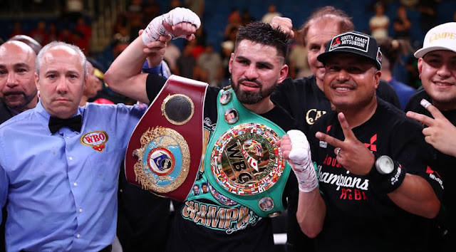 Jose Ramirez WBC and WBO Super World Lightweight Champion
