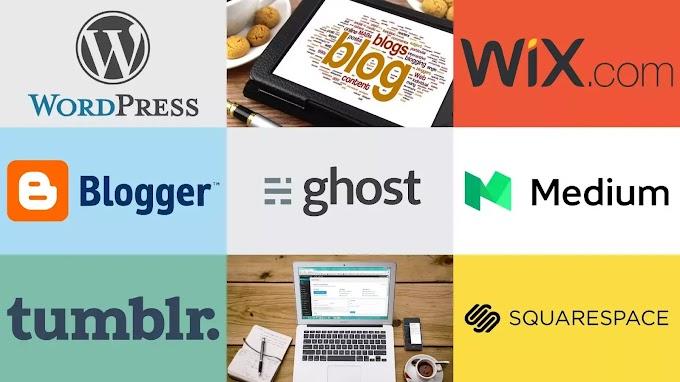 Top blogging platforms for start website in Hindi 2021