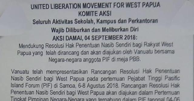 ULMWP akan Lakukan Aksi Damai Mendukung Negara-negara Pasifik untuk Resolusi West Papua di PBB