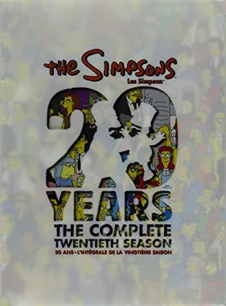 Los Simpsons [Season 20] [2008] [DVD9] [NTSC] [Latino] [4DISC]