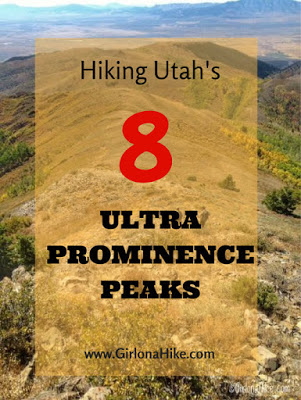My 7 Favorite Adventures from 2016! Hiking Utah's 8 Ultra Prominence Peaks